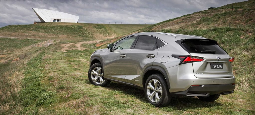 Snackable Review: Lexus NX 300h