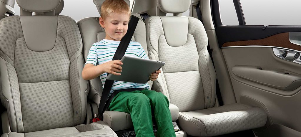 Volvo takes front foot on child safety
