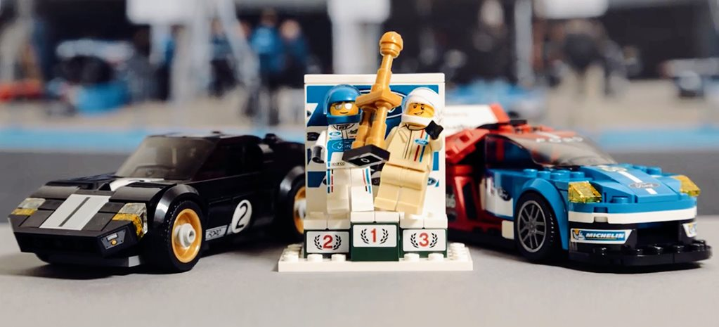 Lego Ford GT40/GT set added to Speed Champions range