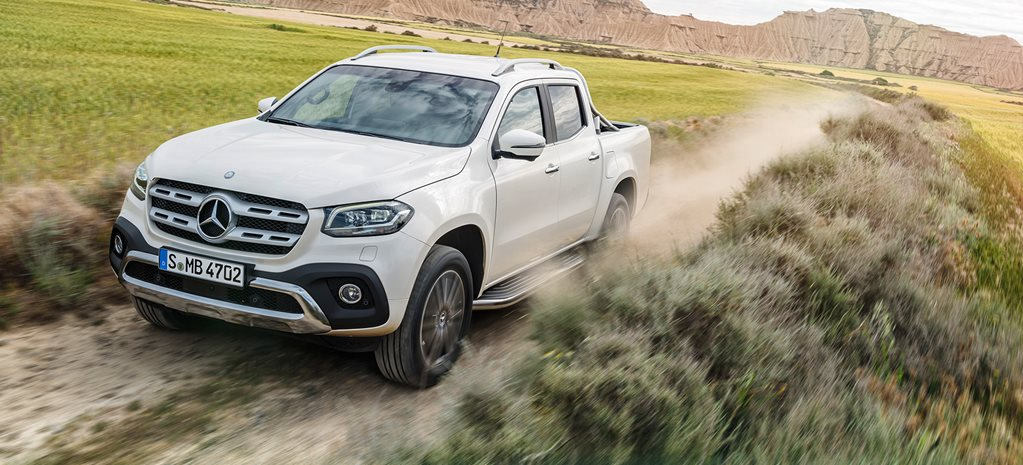 2018 Mercedes-Benz X-Class trade ute to boast three very different models