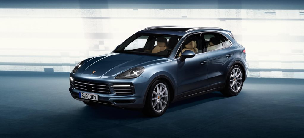 2018 Porsche Cayenne images leaked