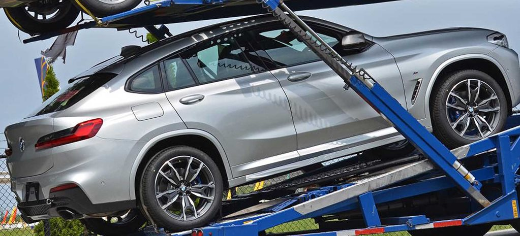 2019 BMW X4 spotted in the flesh