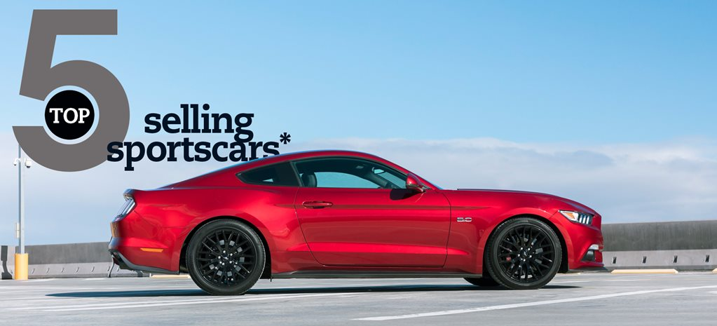 Top 5: Best-selling sportscars