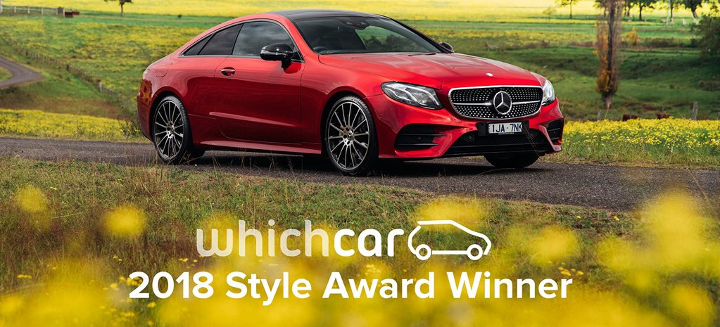 2018 Mercedes-Benz E-Class Coupe wins ufcnancy Style Award