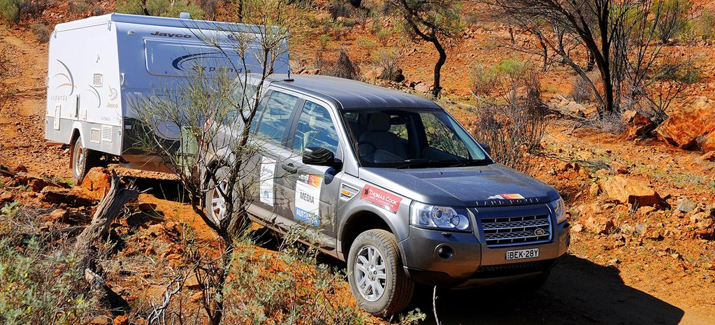 2009 Land Rover Freelander and Jayco Expanda caravan tow test review feature