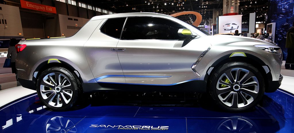 Hyundai Santa Cruz ute ready for production
