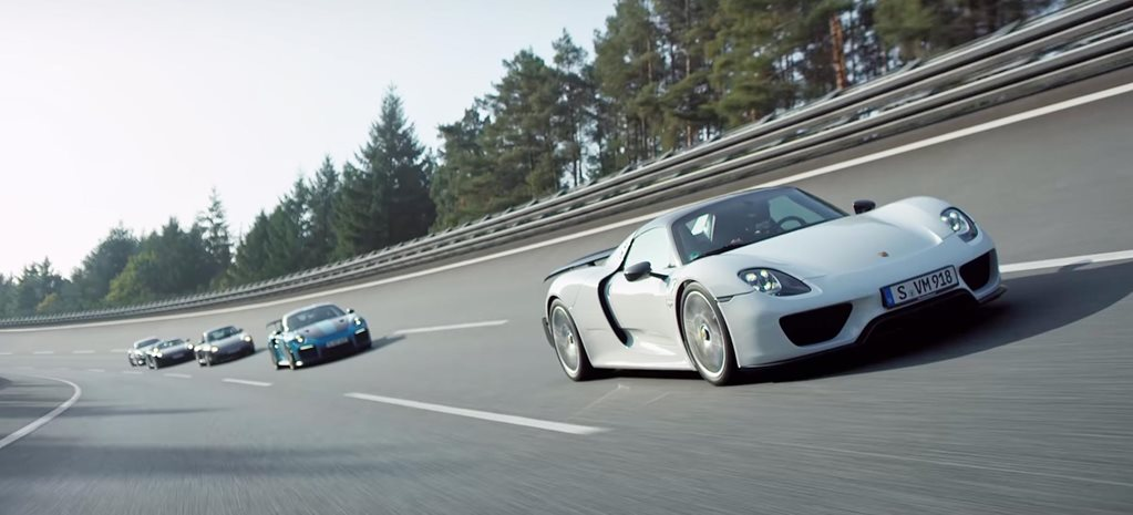 The Five Fastest Porsche road cars video