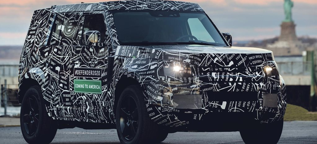 2020 Land Rover Defender not far away feature