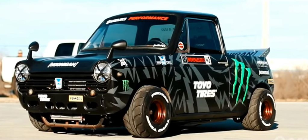 GSX-R-powered Honda N600 becomes tiny Hoonitruck