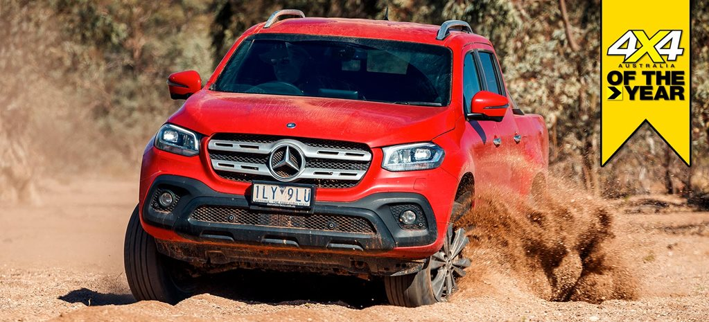 Mercedes-Benz X250d Progressive 2019 4x4 of the Year contender feature