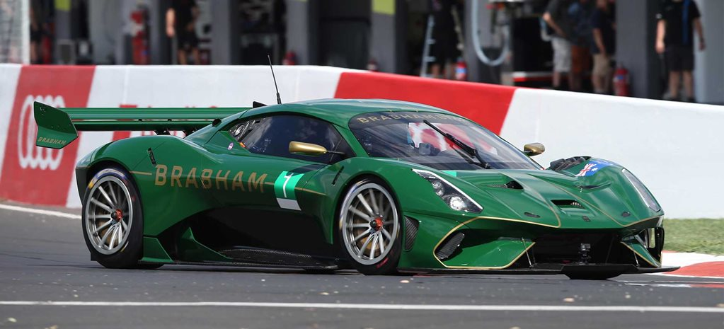 Video: Brabham BT62 sets Bathurst outright lap record