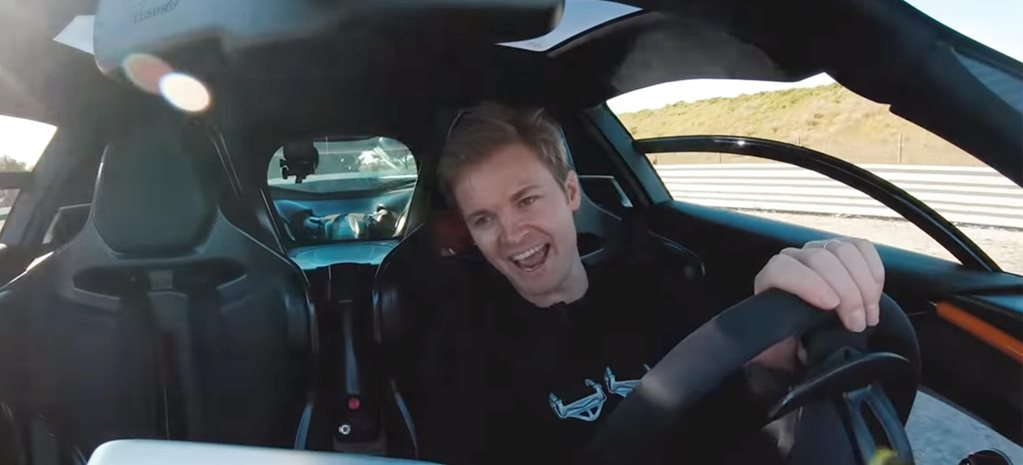 Nico Rosberg McLaren Senna hot laps video