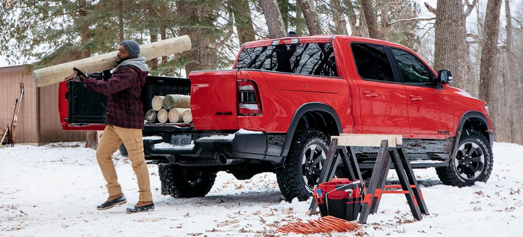 2019 Ram 1500 multi-function tailgate feature