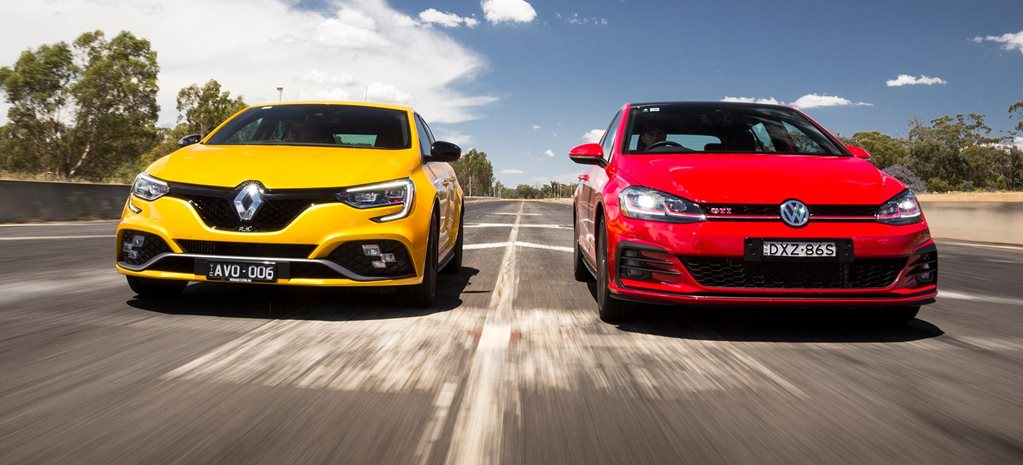 2019 Renault Megane RS280 vs Volkswagen Golf GTI performance comparison feature