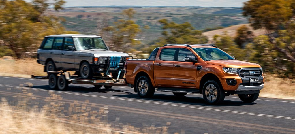 2019 Ford Ranger tow test feature