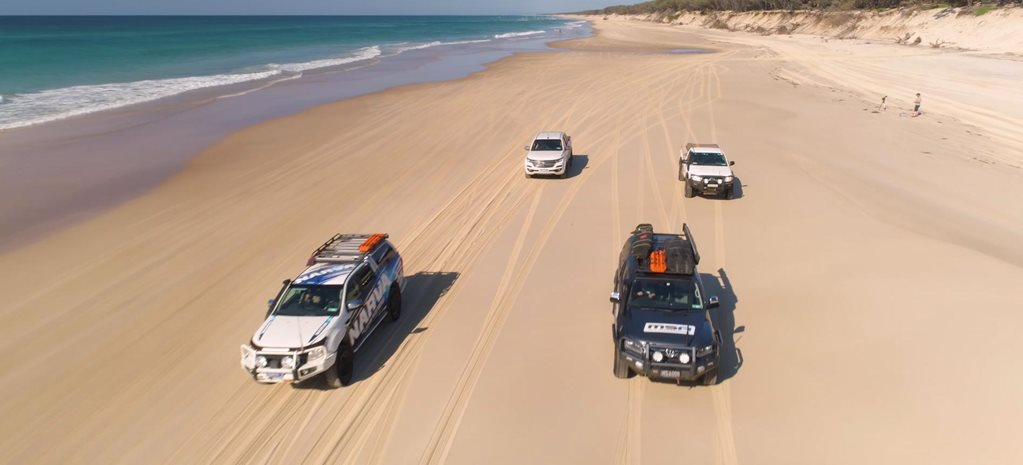 Stradbroke Island 4x4 adventure DVD feature
