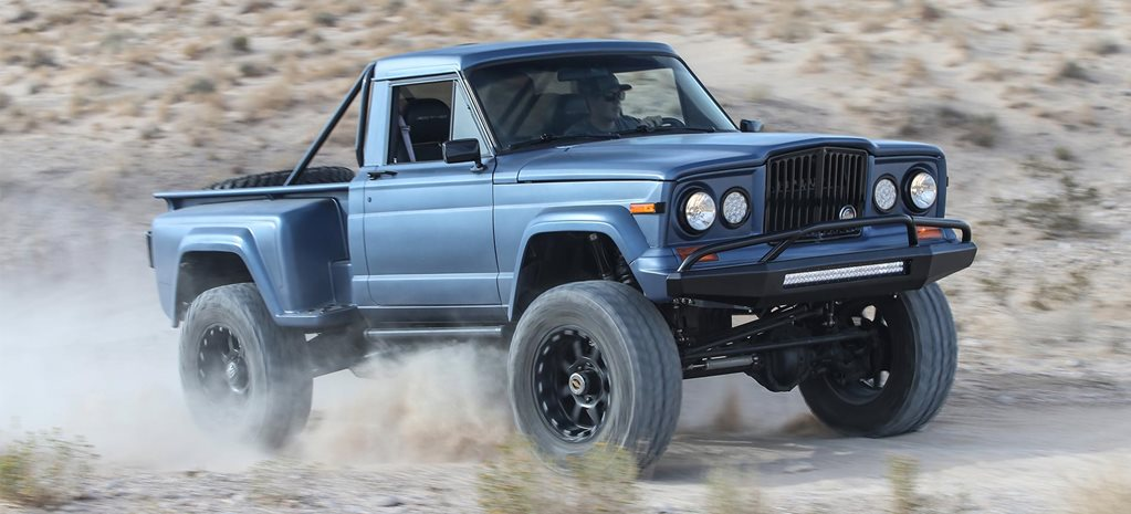 Custom Viper V10-powered Jeep J10 review feature