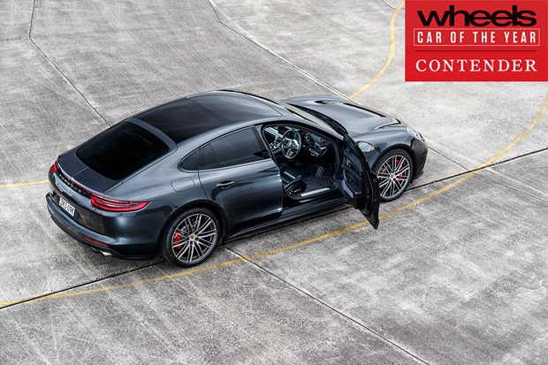 Porsche Panamera 2018 Car of the Year contender
