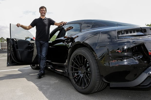 2019 Porsche Mission E: Mark Webber's first drive of the electric superstar