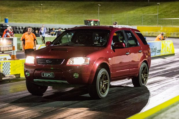 Nine-second turbo Ford Territory – Video