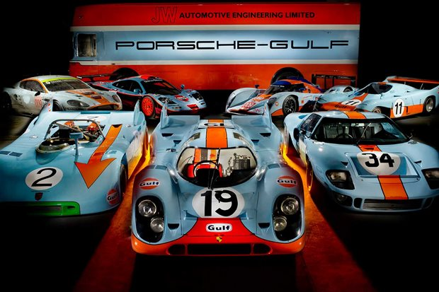 The Gulf Racing cars Legend Series