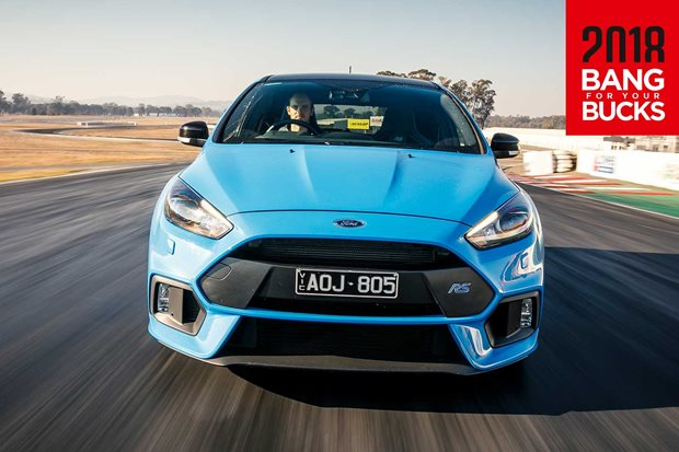 2018 Ford Focus RS Limited Edition track review