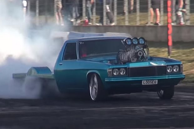 Jack Seaman and LOOSEQ win Burnout Outlaws 2018