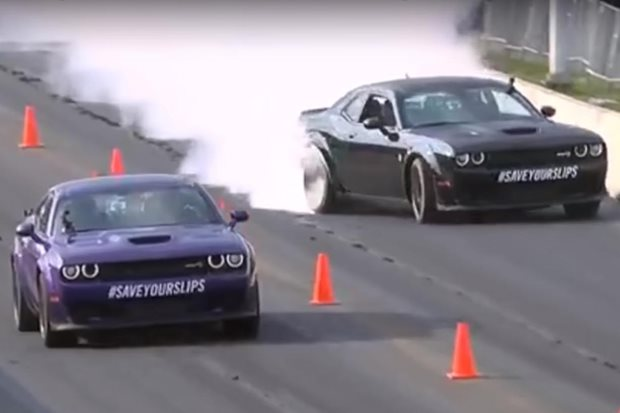 Richard Rawlings Hellcat crash at Roadkill Nights