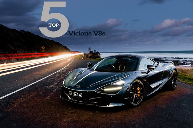 Top Five: Vicious V8s