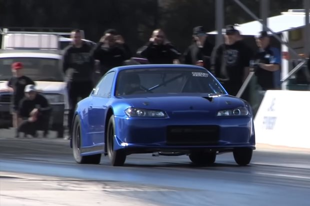 Nissan S-chassis SR20 world record – Video