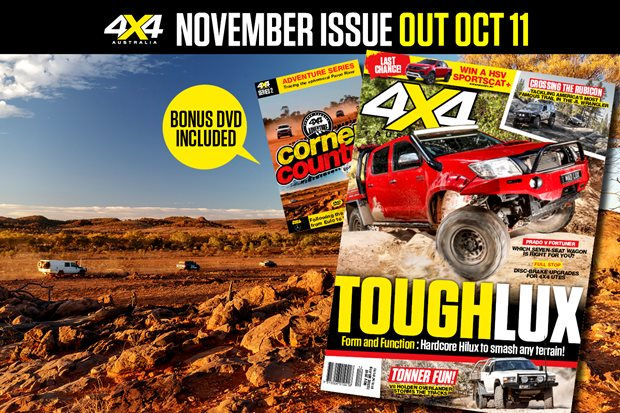 November 2018 issue on sale October 11