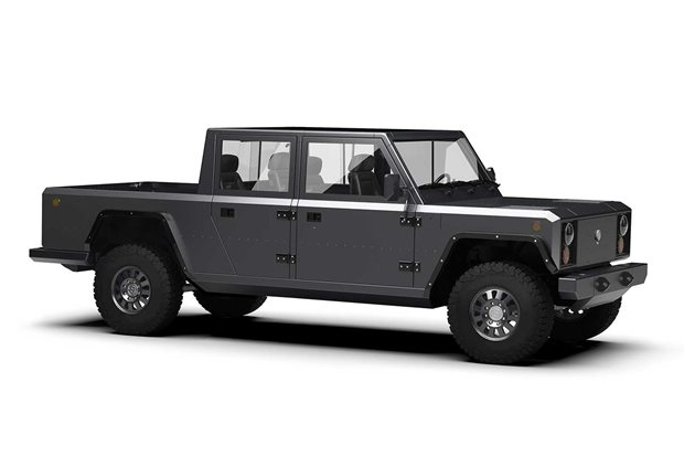 Bollinger B2 electric pick-up introduced