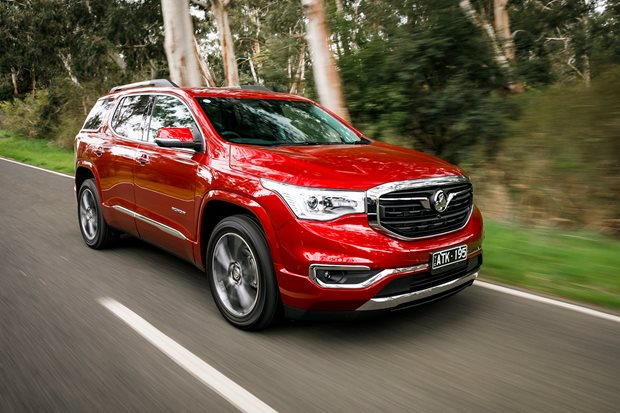 2018 Holden Acadia review