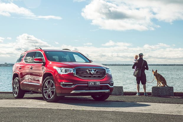 2019 Holden Acadia pricing and features
