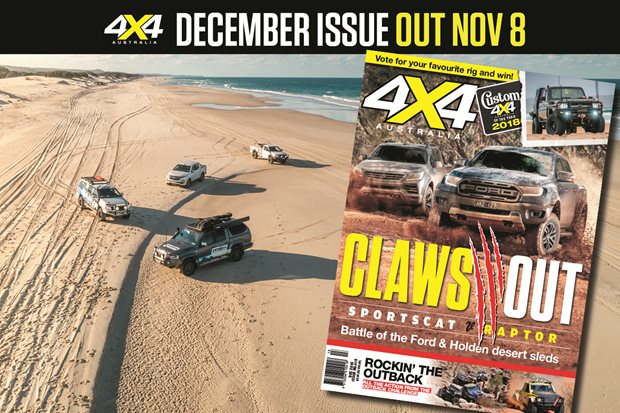 December 2018 issue of 4X4 Australia on sale