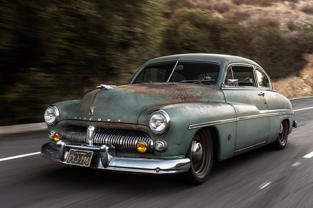 Electric-Powered 1949 Mercury at SEMA! – SEMA 2018