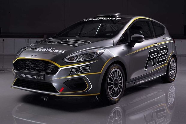 New Ford Fiesta R2 rally car revealed
