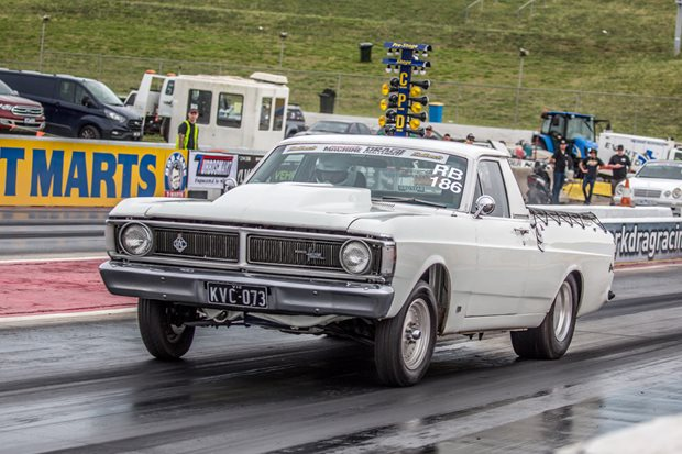 Nine-second nitrous Windsor-powered Ford XY ute