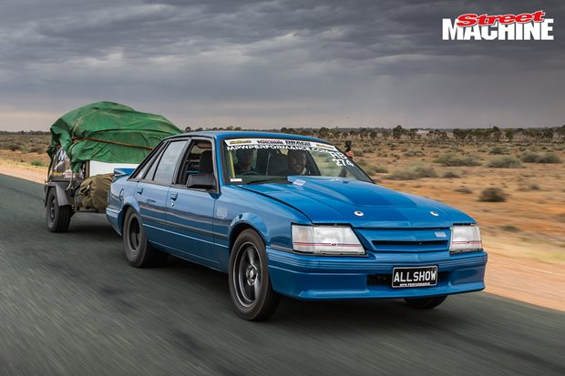 ALLSHOW VK Commodore at Drag Challenge 2018 – Video