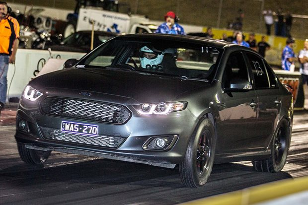 Nine-second Barra-powered Ford Falcon FG-X XR6 Turbo –Video