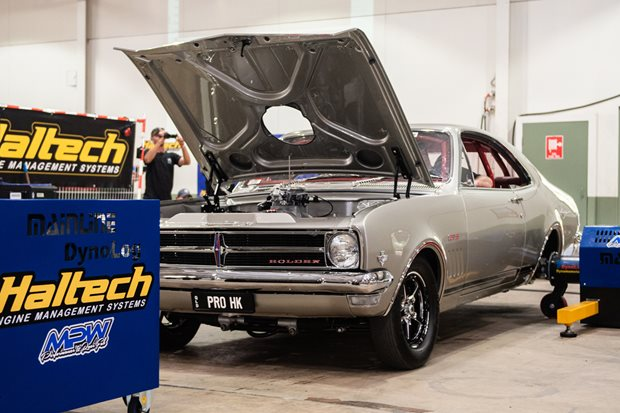 Eight-second HK Monaro owns the dyno and Tuff Street at Street Machine...