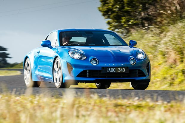 Meet the COTY finalists: Alpine A110