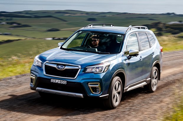 Meet the COTY finalists: Subaru Forester