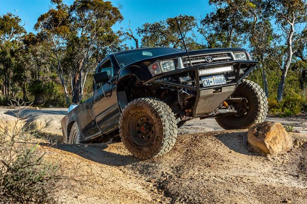 Custom Lexus V8-powered 1999 Toyota Hilux review