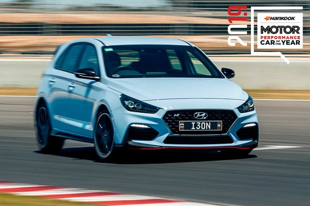 Performance Car of the Year 2019 5th place Hyundai i30 N