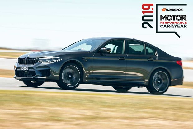 Performance Car of the Year 2019 3rd place BMW M5 Competition