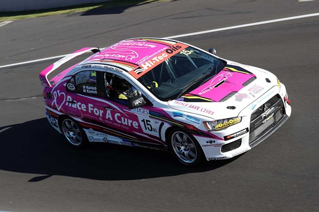 Bathurst team Race for a Cure supports breast cancer research
