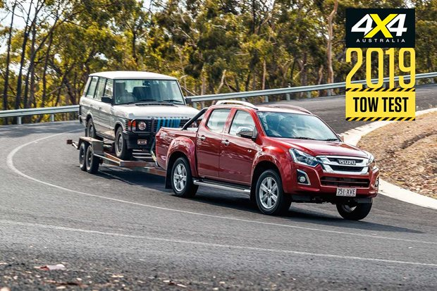 2019 Isuzu D-Max load and tow test review