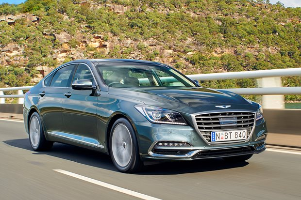 Return of the undead: driving the 'new' Genesis G80