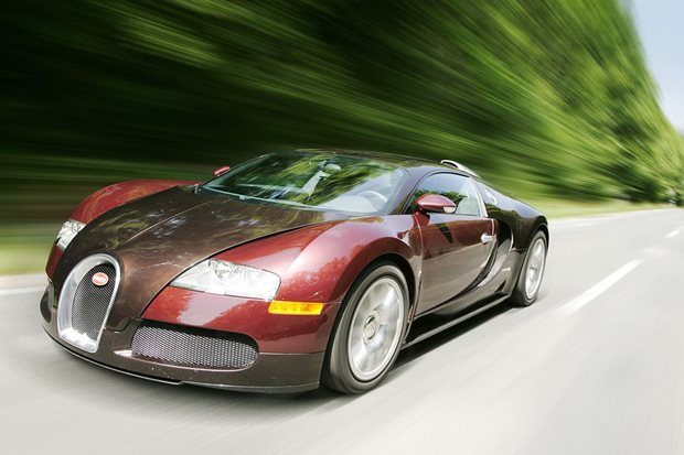 Here's what happens when you crash a Bugatti at 400km/h